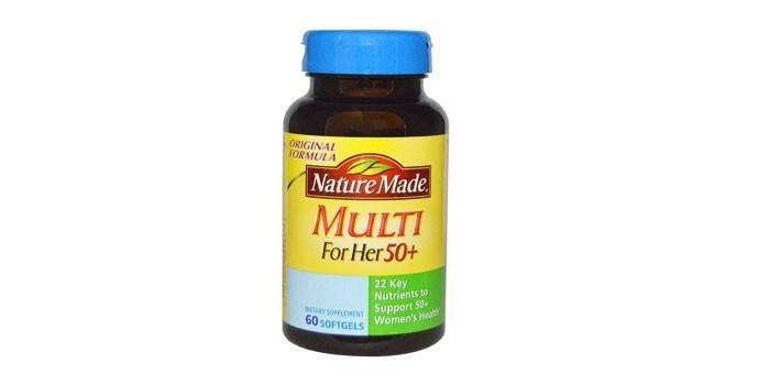 Рейтинг топ 7 лучших витаминов для женщин старше 50: какие выбрать, отзывы