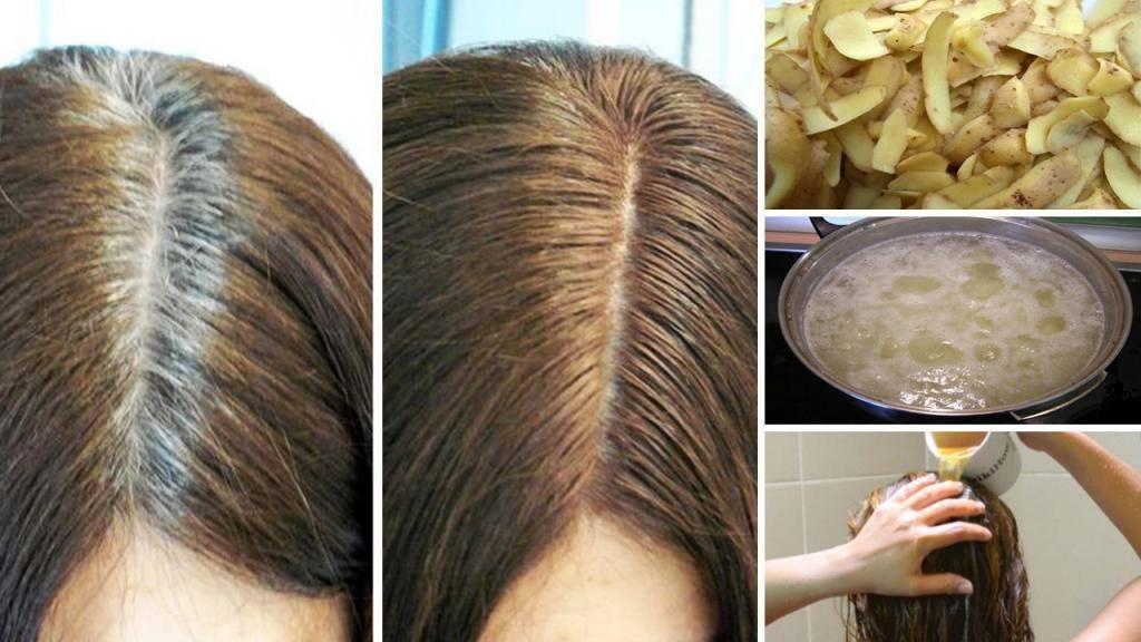Закрасит ли седину оттеночный бальзам, шампунь для темных волос