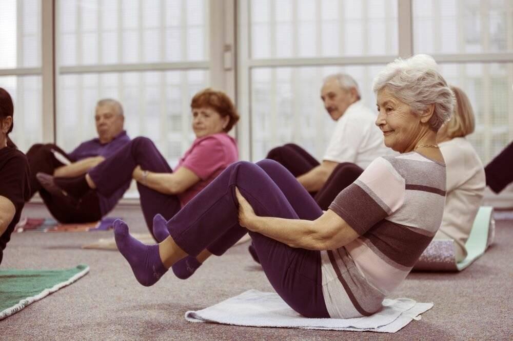 Физическая зарядка для пожилых людей за 50 и 60 лет