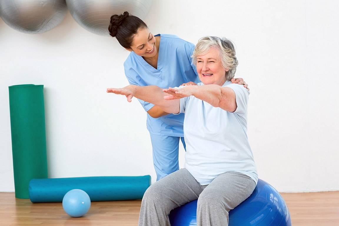 Гимнастика (упражнения) для пожилых женщин: видео, утренняя зарядка, лечебная физкультура, для полных