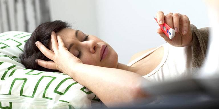 Скачки температуры тела при онкологии - онколо́гия