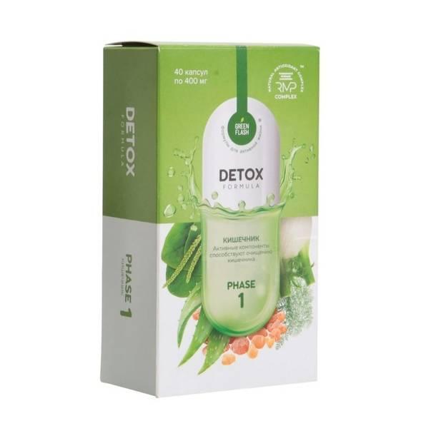 Детокс программа для комплексного очищения организма и похудения