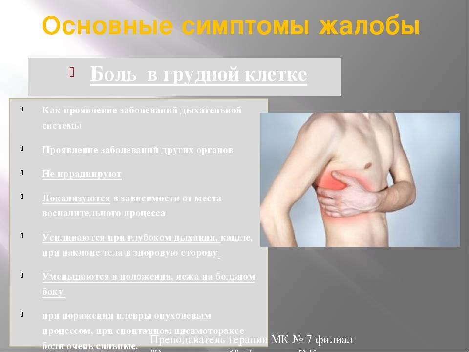 Боль в грудине посередине и комок в горле: причины и лечение