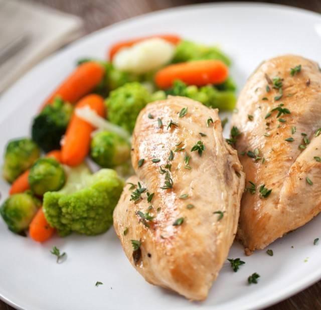 Рецепт из курицы в духовке при гастрите