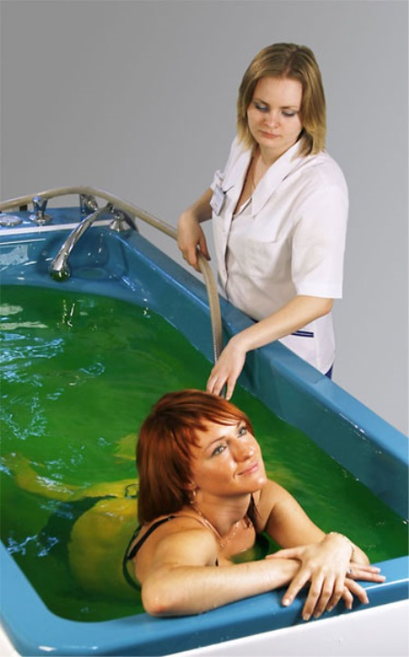 Жемчужные ванны и другие виды гидромассажных лечебных процедур