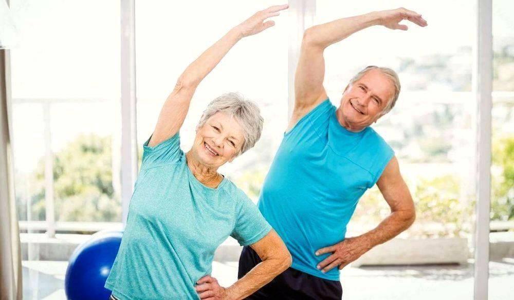 Полезные физические упражнения для пожилых мужчин