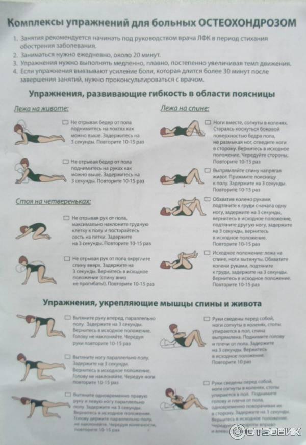 Лучшие виды упражнений при шейном остеохондрозе, которые можно делать в домашних условиях