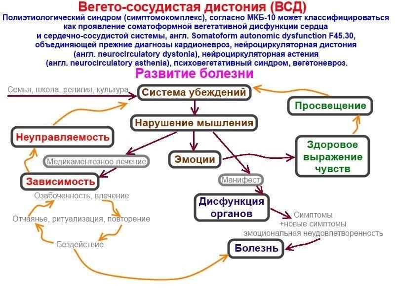 Нейроциркуляторная дистония. что это такое по гипертоническому, кардиальному, смешанному типу. симптомы, лечение, клинические рекомендации
