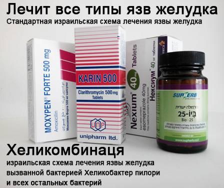 Лечение эрозии желудка трихопол