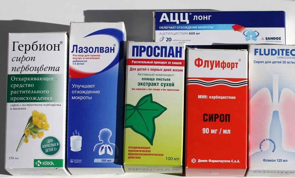 От кашля: недорогие, но эффективные лекарства взрослым