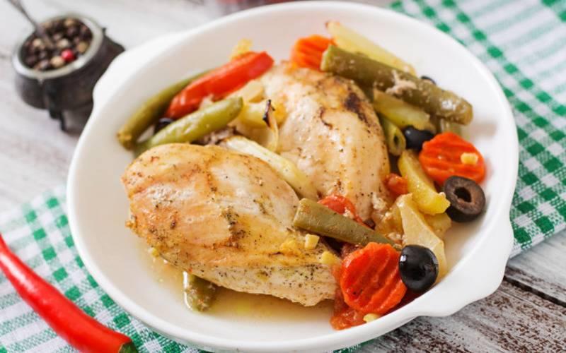 Вареная курица при гастрите - лечение гастрита