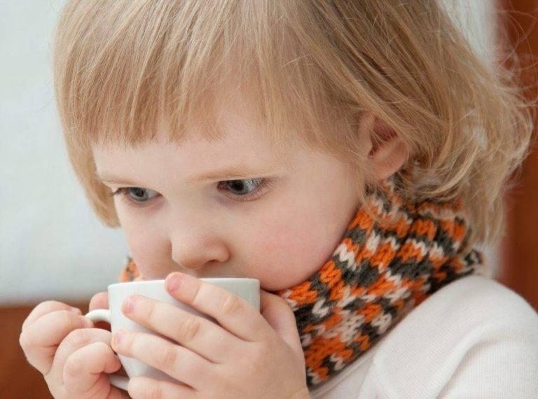 Охрип голос у ребенка при орви
