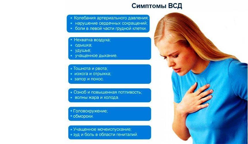Вегетососудистая дистония (всд) у женщин: симптомы, причины и лечение
