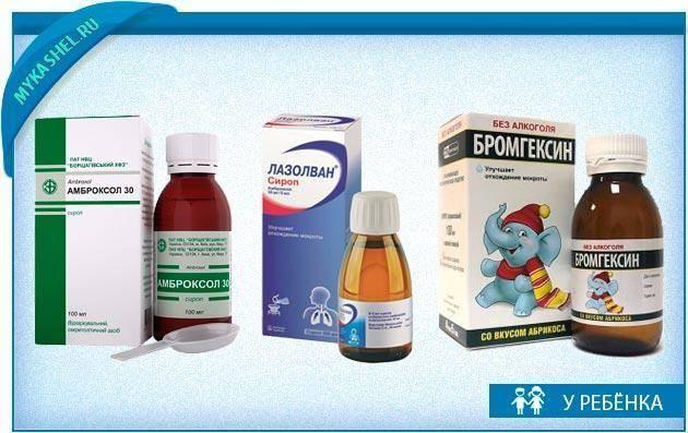 Влажный кашель у детей: симптомы и лечение