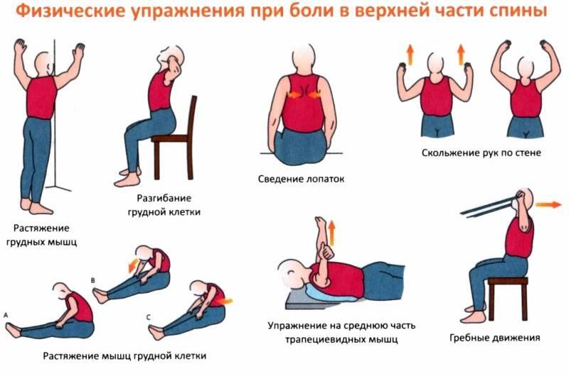 Упражнение от боли в спине, пояснице, шее. видео для женщин, мужчин в домашних условиях
