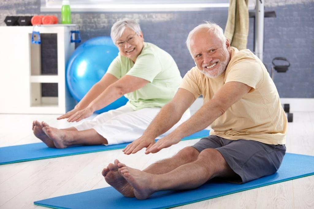 Китайская гигиеническая гимнастика для пожилых людей (1961г) - диагностер