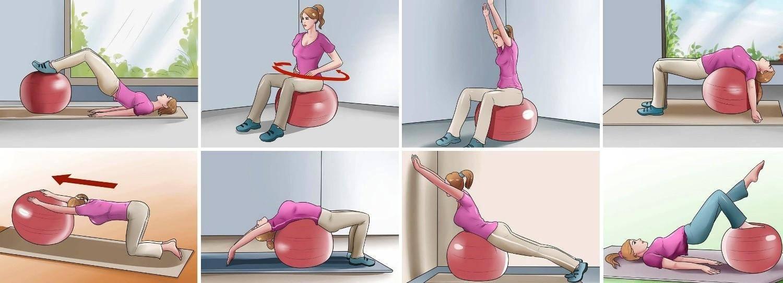 Комплекс упражнений на шведской стенке для позвоночника