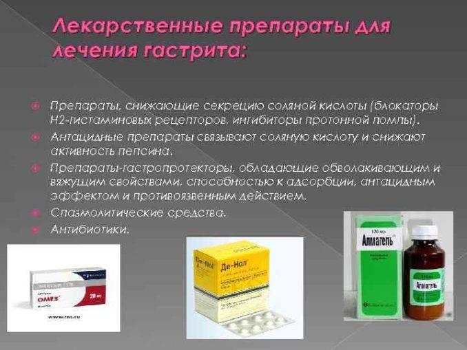 Антибиотики при гастрите: показания, способы приёма и осложнения