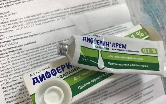 Кремы от прыщей на лице в аптеке: недорого и эффективно для ухода за кожей лица от шелушения, от прыщей