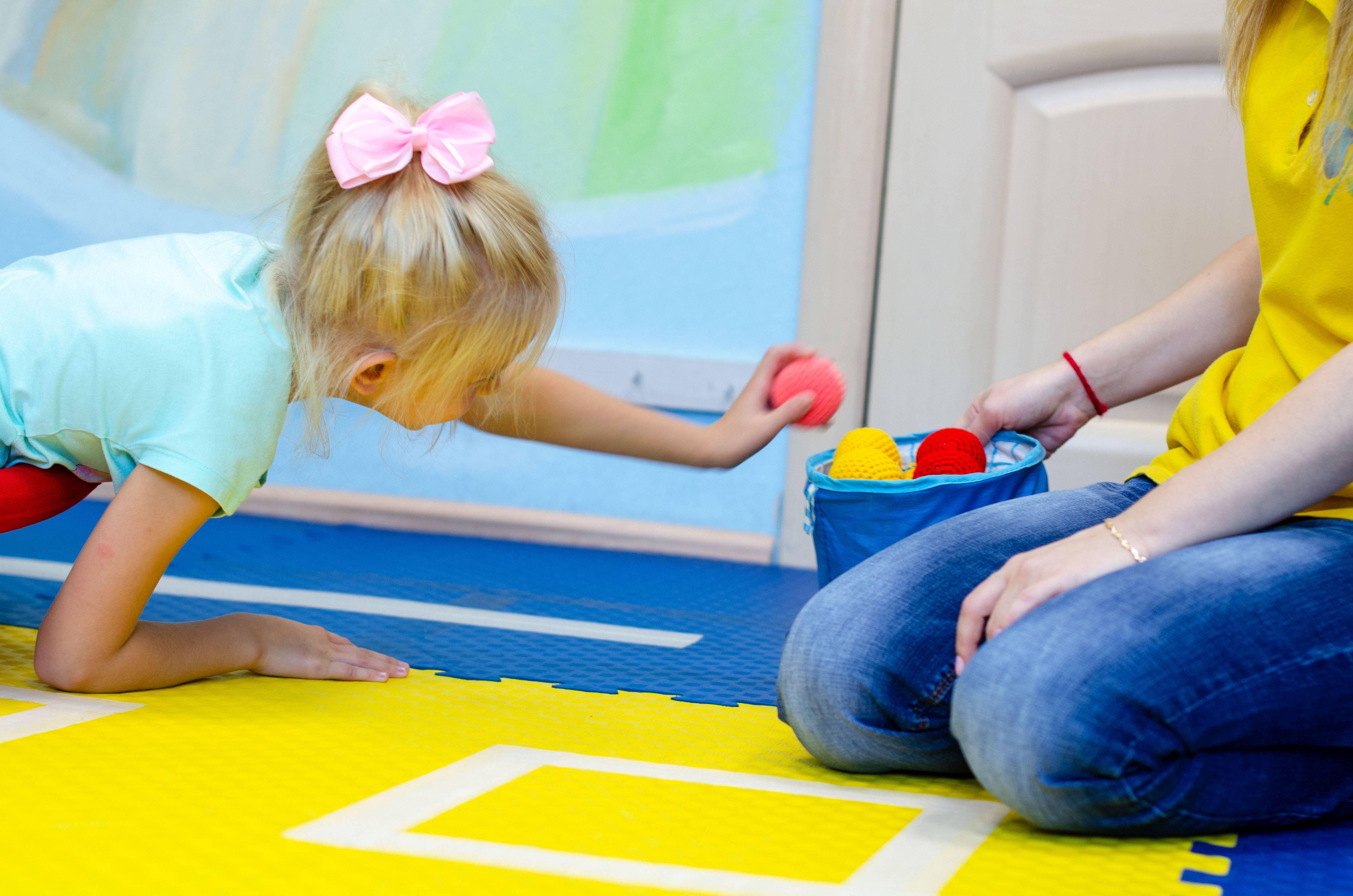 Использование приёмов сенсорной интеграции в коррекционной работе  с детьми с овз