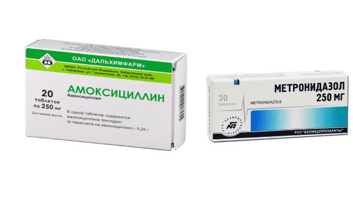 Амоксициллин и метронидазол: можно ли принимать одновременно (совместимость)