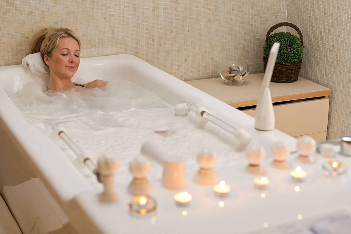 Показания и противопоказания жемчужных ванн