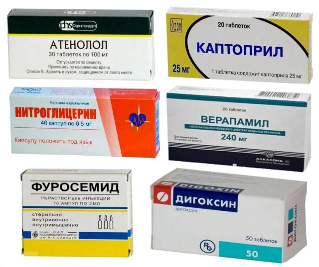 Препараты от одышки при сердечной недостаточности
