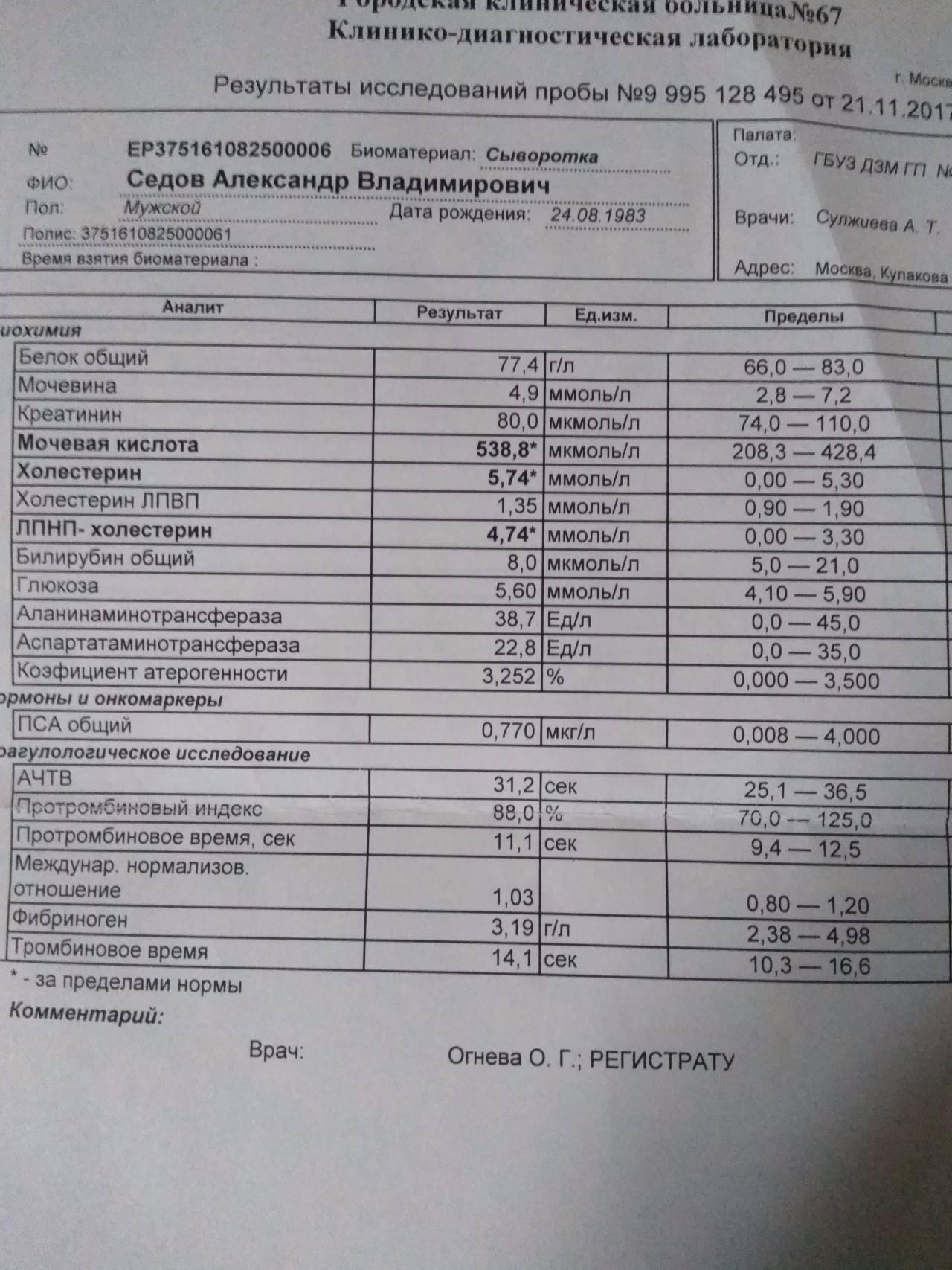 Коэффициент атерогенности: что это и как рассчитать индекс атерогенности у мужчин и женщин