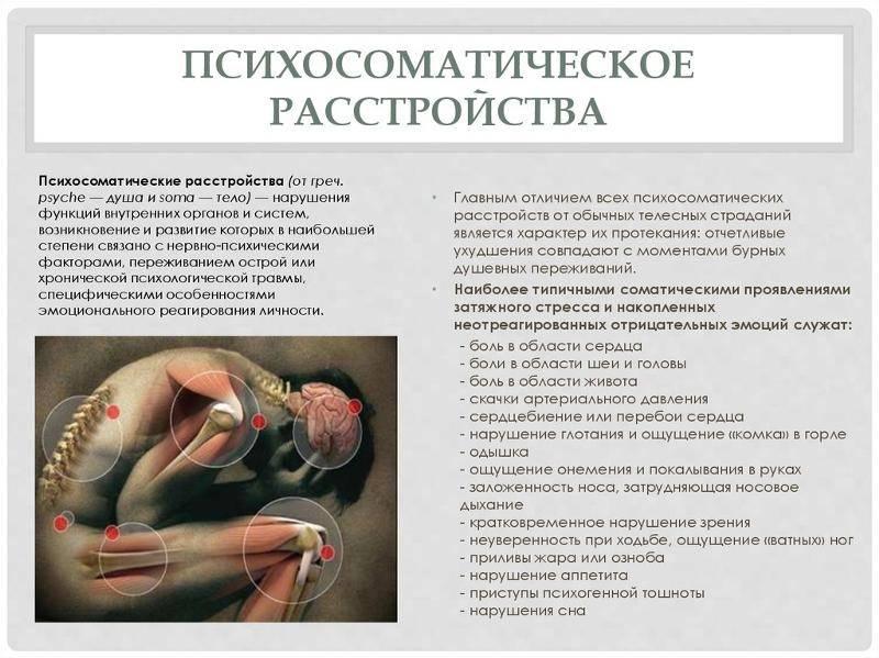 Психосоматические причины отрыжки и изжоги