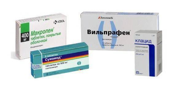Антибиотики для лечения гастрита