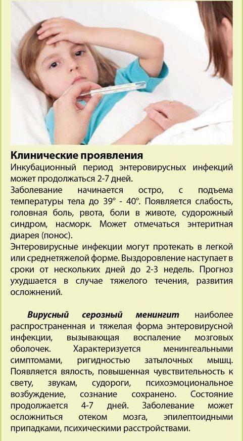Энтеровирусная инфекция. причины, симптомы, диагностика и лечение заболевания. :: polismed.com