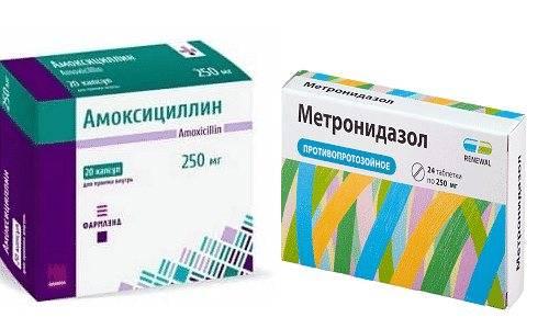 Антибиотики при гастрите: лечение гастрита с хеликобатер и эрозивного гастрита