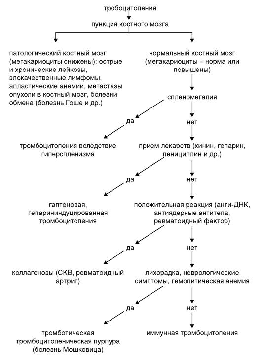 Идиопатическая тромбоцитопеническая пурпура. диагноз и лечение. педиатрия  