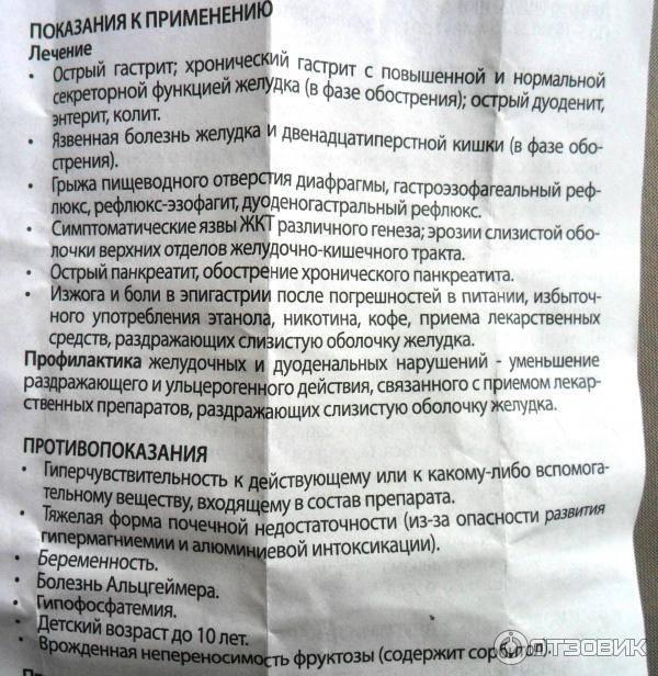 Лекарства при гастрите с повышенной кислотностью желудка