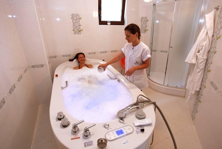 Жемчужные ванны, показания и противопоказания