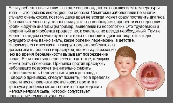 Розеола у детей - фото, симптомы и лечение