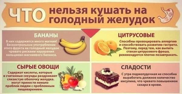 Какие фрукты можно и нельзя при гастрите желудка