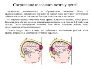 Что делать в домашних условиях при сотрясении головного мозга у ребенка и как лечить?