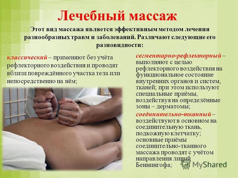 Сегментарный массаж. что это такое, техника, правила, рекомендации, показания