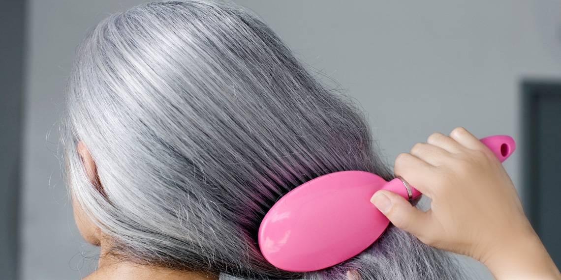 Как избавиться от седины без окрашивания. седые волосы: причины ранней седины и как вернуть цвет