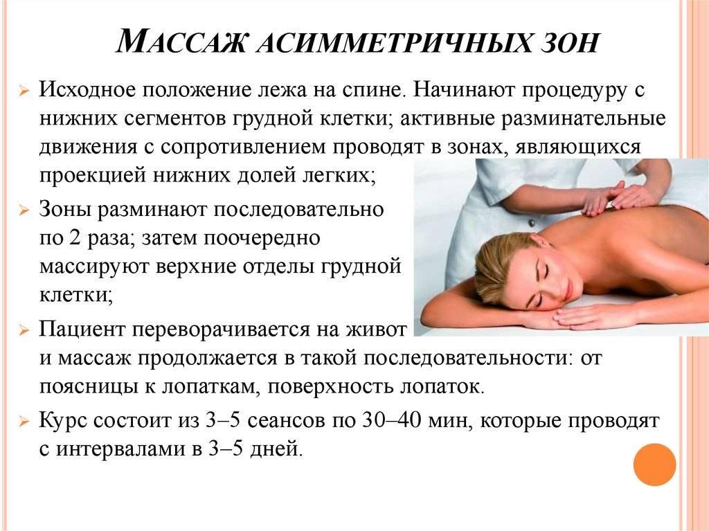 Методические указания к проведению рефлекторно-сегментарного массажа